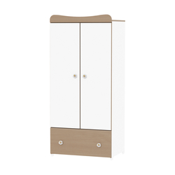 Ντουλάπα Exclusive White/Beech Lorelli 10170120028