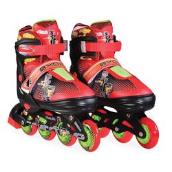 Πατίνια Roller Skates Αυξομειούμενα In-Line Mask L (38-41) Black Byox 3800146254209
