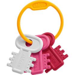 Μασητικά Χρωματιστά Κλειδιά Ροζ 3-18m Chicco 63216-10