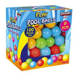 Σετ Μπαλάκια 06400 Play Pool Balls σε κουτί 100 τμχ Pilsan