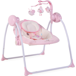 Ρηλάξ-Κούνια Baby Swing Plus Pink Cangaroo 3800146247119