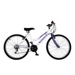 Ποδήλατο Orient MTB Comfort 24'' Lady 18sp. White&Purple 151314