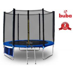 Τραμπολίνο με Δίχτυ και Σκάλα 244cm Buba 021659
