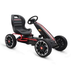 Παιδικό Αυτοκινητάκι Go Kart με πετάλια Eva Wheels Abarth 500 Assetto Black Cangaroo 3800146242701