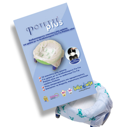 Ανταλλακτικά Βιοδιασπώμενα Σακουλάκια για Potette Plus 2in1 10 τμχ. Babywise