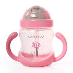 Εκπαιδευτικό Ποτηράκι 6m+ 300ml Boo Pink C0582 Cangaroo 3800146263416