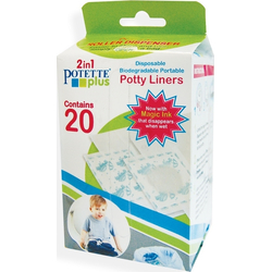 Ανταλλακτικά Βιοδιασπώμενα Σακουλάκια σε ρολό για Potette Plus 2in1 20 τμχ. 56020 Babywise