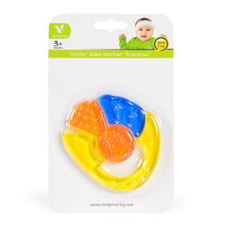 Μασητικό οδοντοφυΐας με νερό Rainbow T1187 Yellow Cangaroo 3800146261917