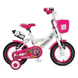 """Ποδήλατο 1281 Παιδικό 12"""" Pink Byox 3800146200923"""