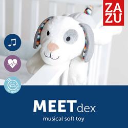 Σκυλάκι με Χτύπο της Καρδιάς και Λευκούς Ήχους Dex Zazu ZA-DEX-01