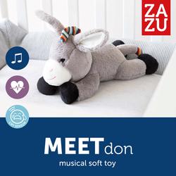 Γαϊδουράκι με Χτύπο της Καρδιάς και Λευκούς Ήχους Don Zazu ZA-DON-01