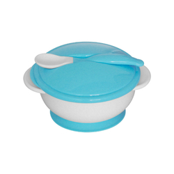Σετ Μπωλ Φαγητού Με Κουταλάκι Blue Lorelli 1023040