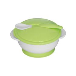 Σετ Μπωλ Φαγητού Με Κουταλάκι Green Lorelli 1023040