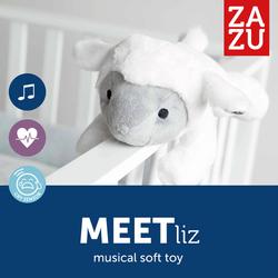 Αρνάκι με Χτύπο της Καρδιάς και Λευκούς Ήχους Liz Zazu ZA-LIZ-01