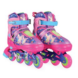 Πατίνια Roller Skates Αυξομειούμενα In-Line Mask L (38-41) Purple Byox 3800146254230