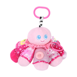 Μαλακό Χταπόδι - Παιχνίδι Pink Octopus Get To Know Lorelli 1019112