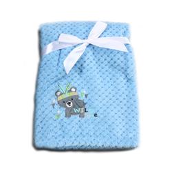 Κουβέρτα Fleece Αγκαλιάς 80x110cm Freya Blue Cangaroo 3800146263980