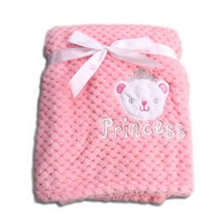 Κουβέρτα Fleece Αγκαλιάς 80x110cm Freya Pink Cangaroo 3800146264000