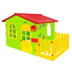 Σπιτάκι Κήπου με Φράχτη Garden House 12243 Mochtoys