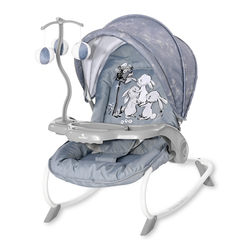 Ρηλάξ Dream Time Silver Blue Rabbits Lorelli 10110062152