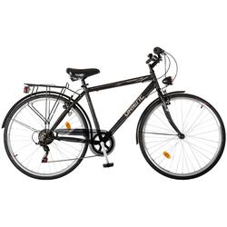 """Ποδήλατο City 28"""" Man 6sp. Black Orient 151098"""
