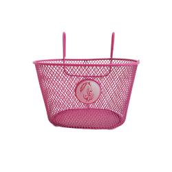 Μεταλλικό Καλάθι Ποδηλάτου Ροζ Elmo 1087930001